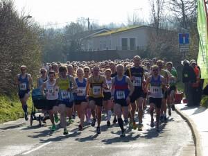 Half Marathon The Start